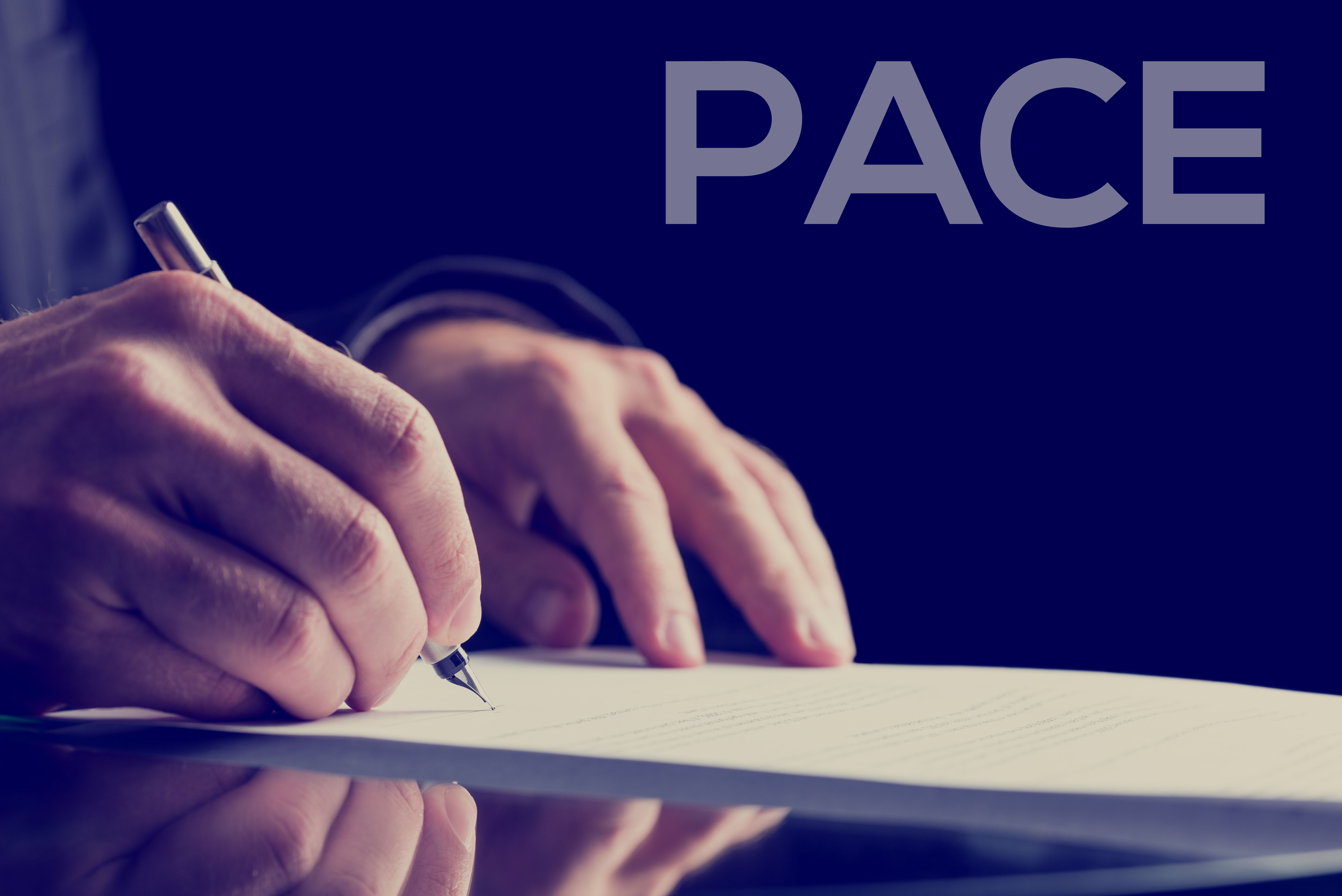 PACE signing
