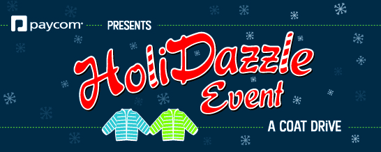 Paycom HoliDazzle Coat Drive