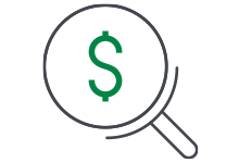 expense audit icon