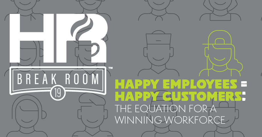 Employee engagement HR Breakroom podcast episode banner