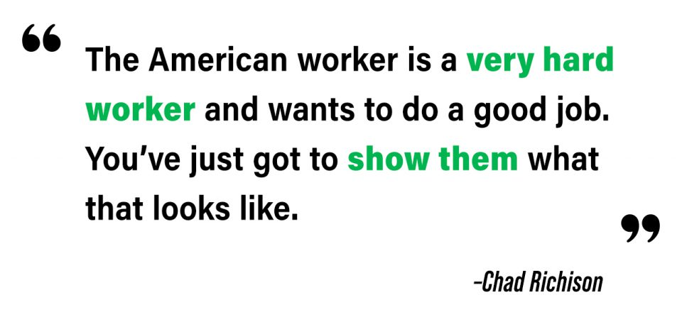 Quote about the American worker