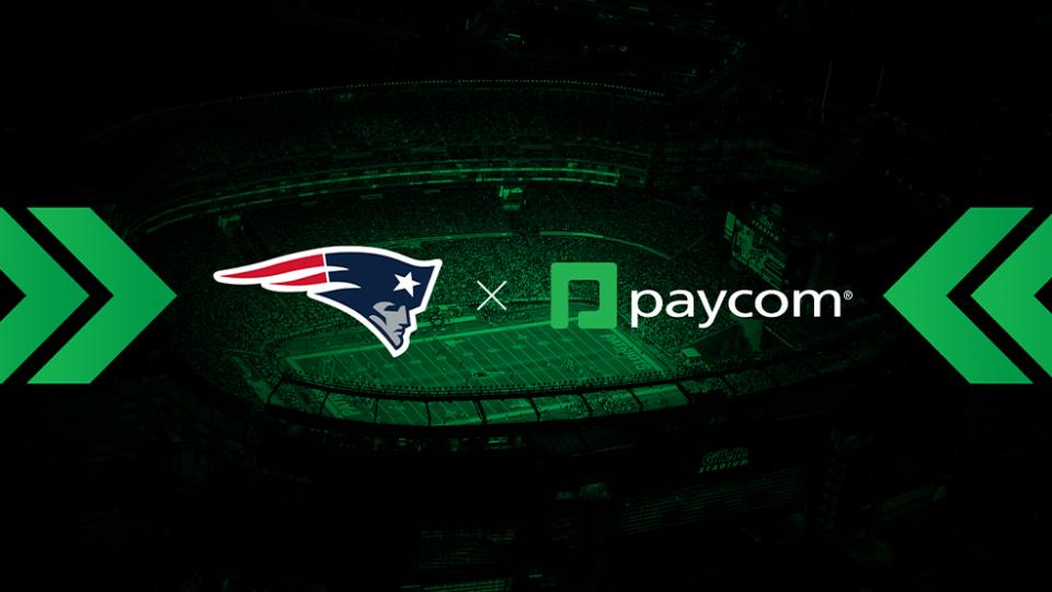 New-England-Patriots-Paycom-Partnership
