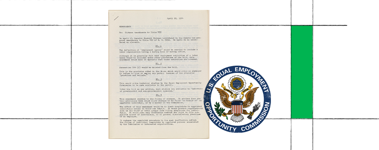 Image displays a black and white document with a rendering of the US government placed on top.