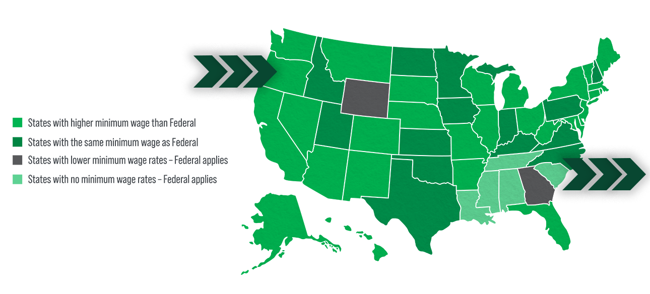 map about workplace compliance
