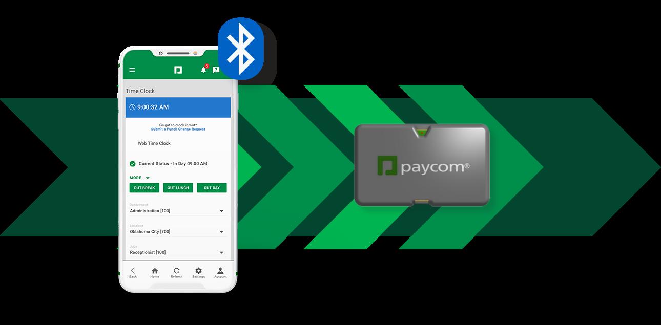 Microfence Beacon Geotracking Paycom