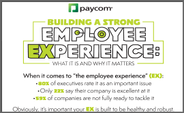 Building a Strong Employee Experience Infographic