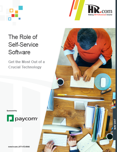 The Role of Self-Service Software White Paper